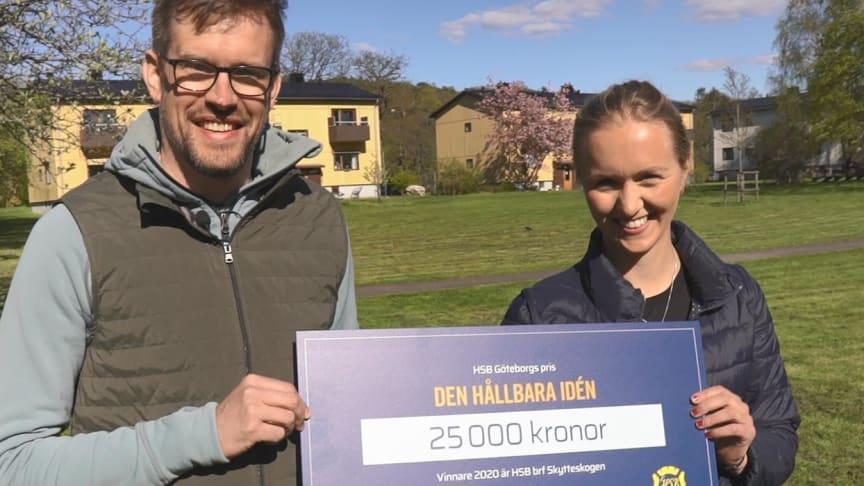 HSB brf Skytteskogen - vinnare av Den hållbara idén 2020.