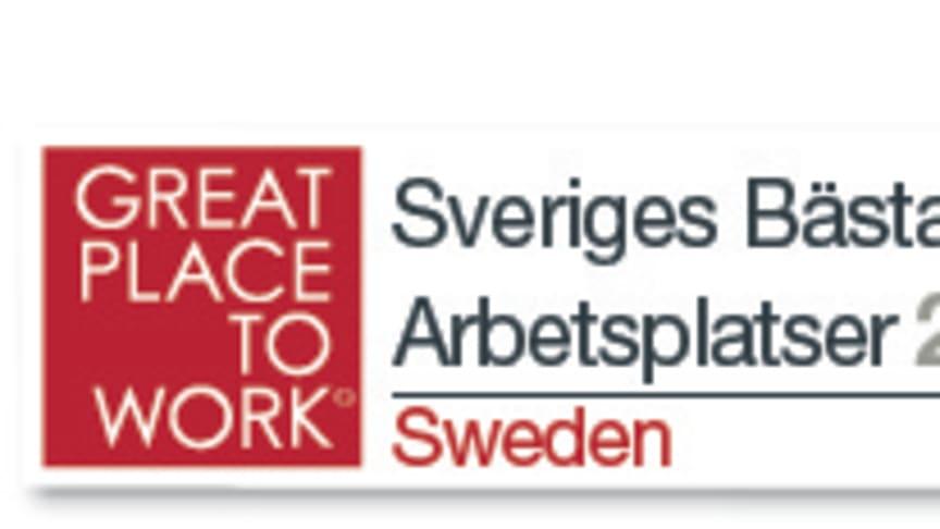 Forsen är Sveriges 12:e bästa arbetsplats