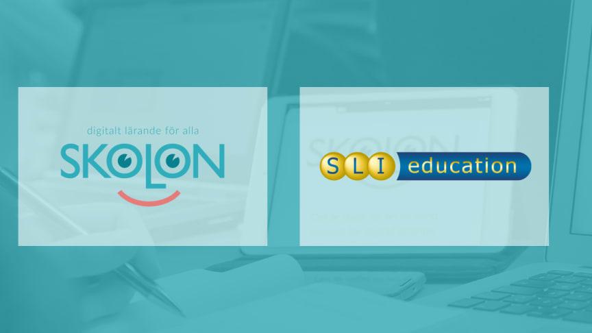Skolon och SLI Education i samarbete - tusentals utbildingsfilmer, tv- och radioprogram blir tillgängliga i plattformen
