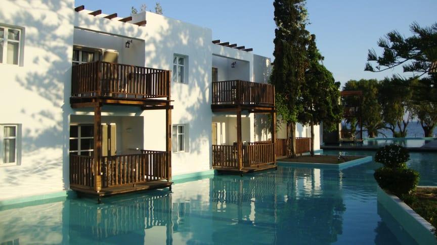 De 18 voksenhoteller Sunprime Resorts er medvirkende årsag til, at Spies også voksede i 2017. Et af hotellerne med en aldersgrænse på 16 år er Sunprime Miramare på Rhodos.