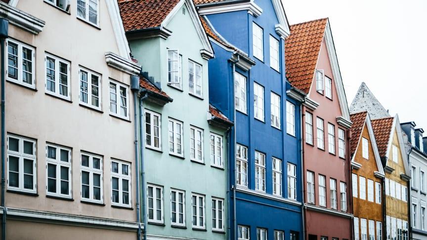 Den seneste opgørelse over salgstider fra Boligsiden viser, at ejerlejligheder i landets fire største studiebyer i gennemsnit bliver solgt på under to måneder. Foto: Alle rettigheder forbeholdt.