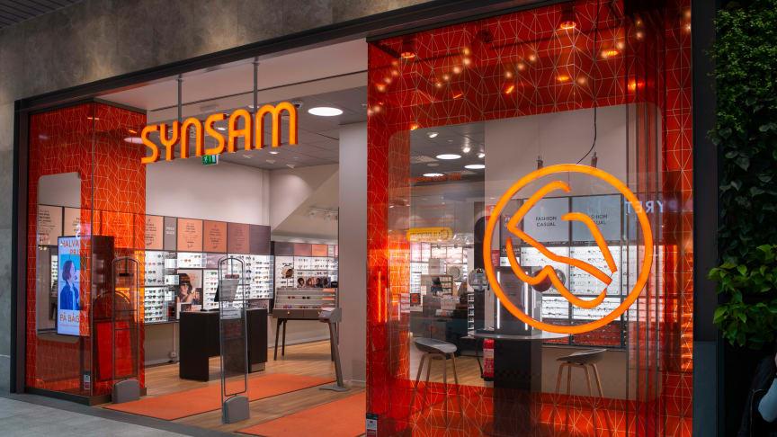 En av Synsams butiker i Sverige. Idag öppnar butik nummer 203 i Kumla.