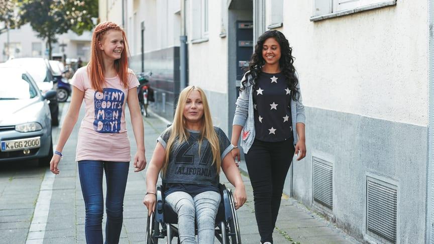 Jugendlichen liegt Engagement für Inklusion am Herzen. / Fotocredits: Aktion Mensch/Jochen Manz