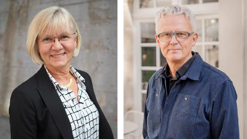 Kristina Frisk, vd för SVID och Mats Widbom, vd för Svensk Form.
