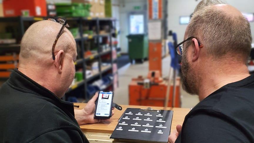 Med digitala lösningar löser du enkelt utmaningarna som ofta uppstår kring verktygsparken. Foto: AddMobile AB