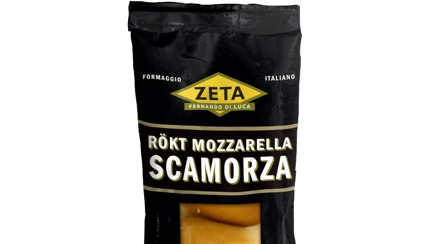 Scamorza - mozzarella med mild rökig smak av bokträ