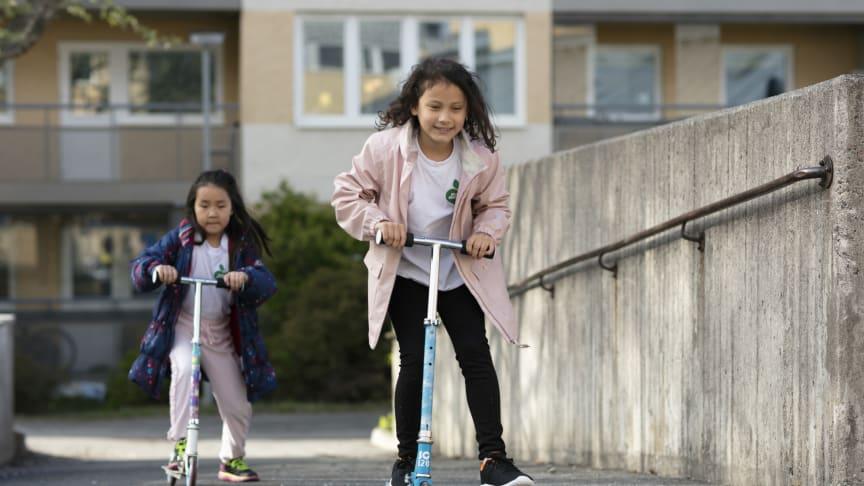Hur kan samhället samverka för skapa en bättre folkhälsa för alla barn? Foto: Oskar Kihlborg