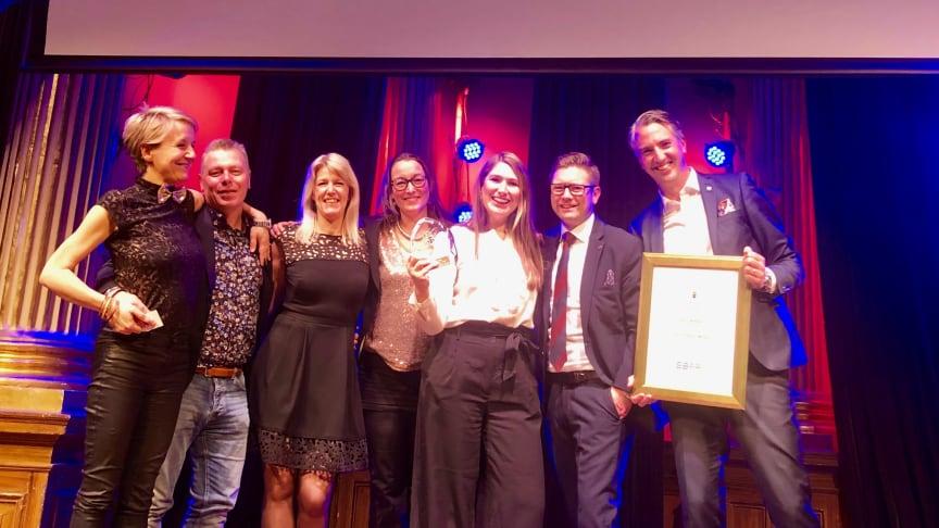 Olsson & Co och Clarion Hotel Malmö Live vann Årets Kampanj på Promotiongatan igår.