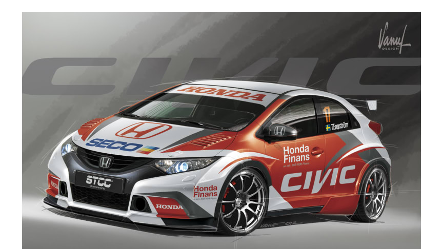 Honda Racing Sweden presenterar STCC-utmanare