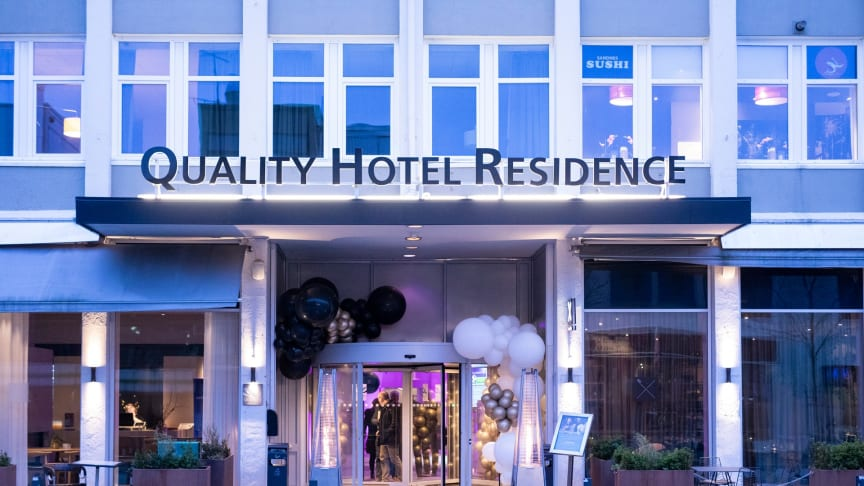 Sommeren har gått over all forventning på Quality Hotel Residence