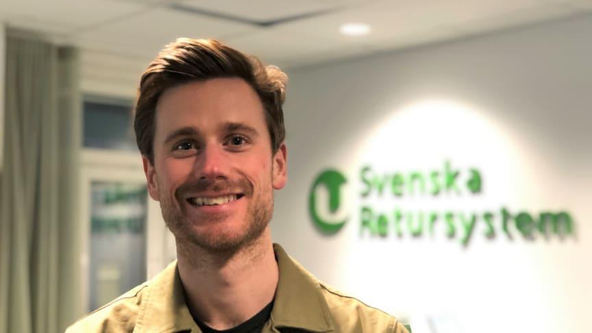 Philip Hallenberg, Demand Planner på Svenska Retursystem