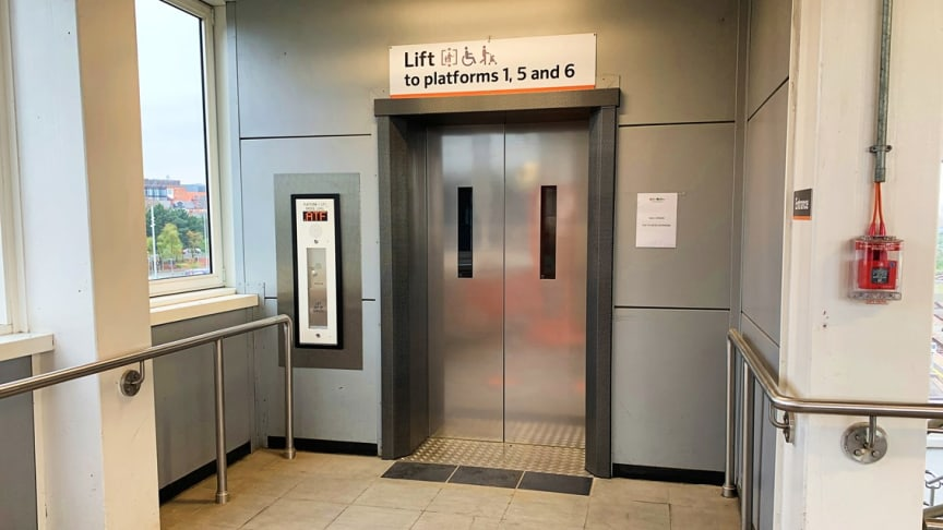 Lift upgrade works completed at Wolverhampton Station