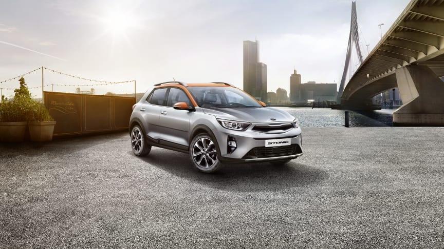 Den helt nye KIA Stonic er en iøjnefaldende og selvsikker kompakt crossover i det stærkt voksende B-SUV segment