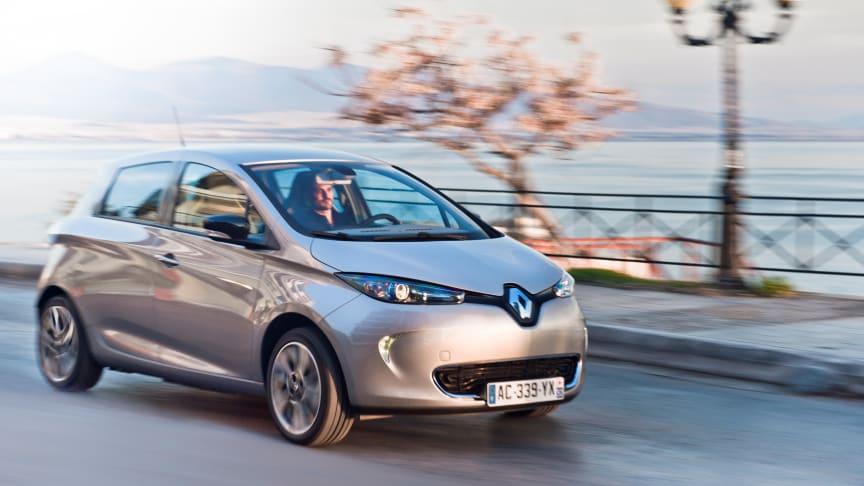 Odense Kommune bestiller 100 Renault Zoe