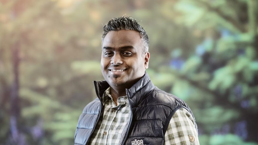 Andreas Olsson är Höga Kusten Destinationsutvecklings första exportsäljare. – Fantastiskt kul! Jag är taggad inför jobbet och för att jobba åt en av Sveriges snabbast växande destinationer.
