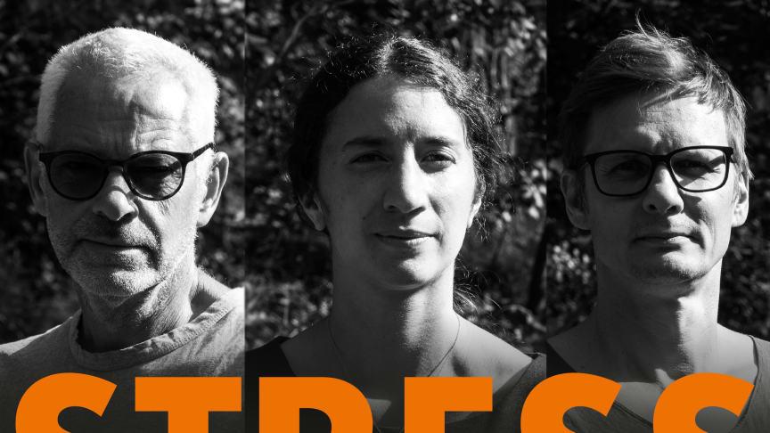 Mats Lekander, Sandra Tamm och Christian Portin står bakom Stressforskningspodden.