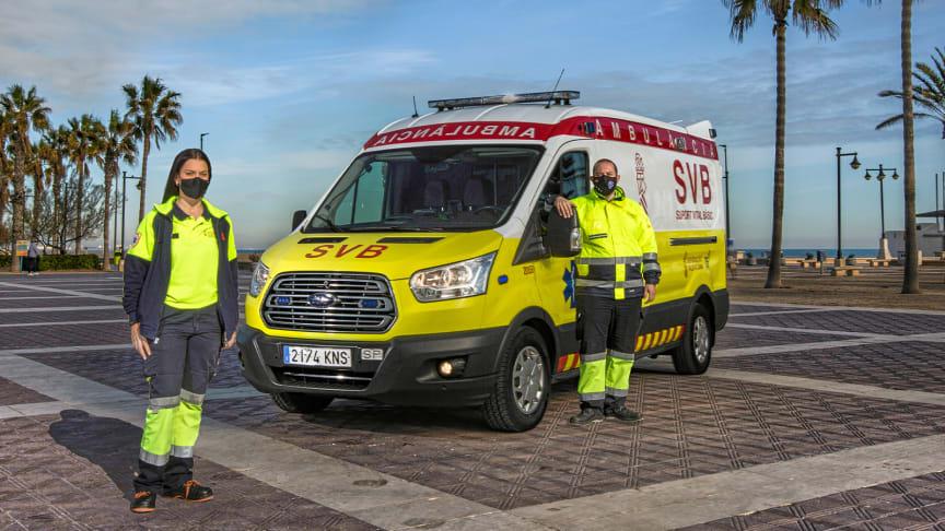 I første afsnit følger man ambulanceredderen Sarai og hendes arbejde i Ford-ambulancen.