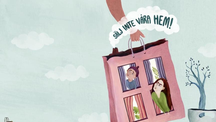 Sälj inte våra hem! – Öppet brev till ledamöterna i  Trelleborgs kommunfullmäktige