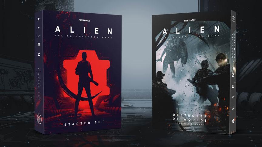 Destroyer of Worlds For The ALIEN RPG Launching September 8 Alongside Starter Set