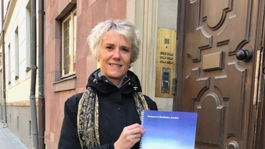 Apotekarsocietetens VD Karin Meyer är stolt och glad över organisationens kandidatur som värd för den internationella toppkonferensen HUPO 2020.