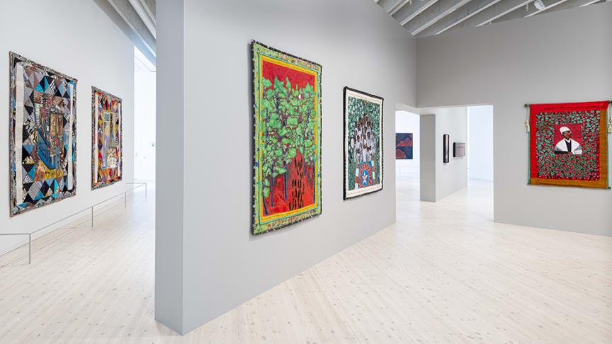 Faith Ringgolds retrospektiv är en av de utställningar som finns på plats när Bildmuseet öppnar igen.