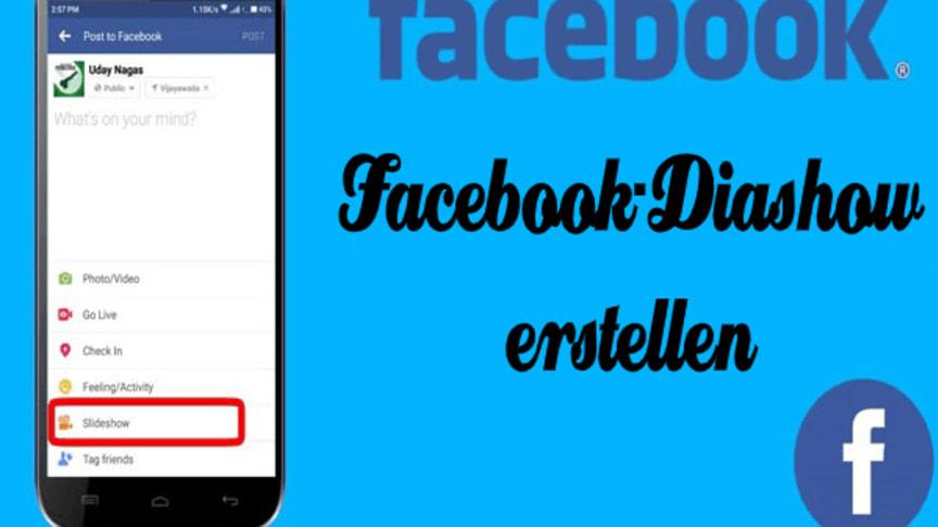 facebook diashow