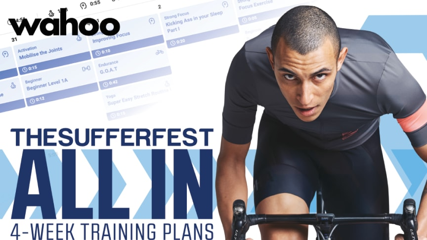 """The Sufferfest & Wahoo Goes """"All In"""" on New Indoor Training Plans"""