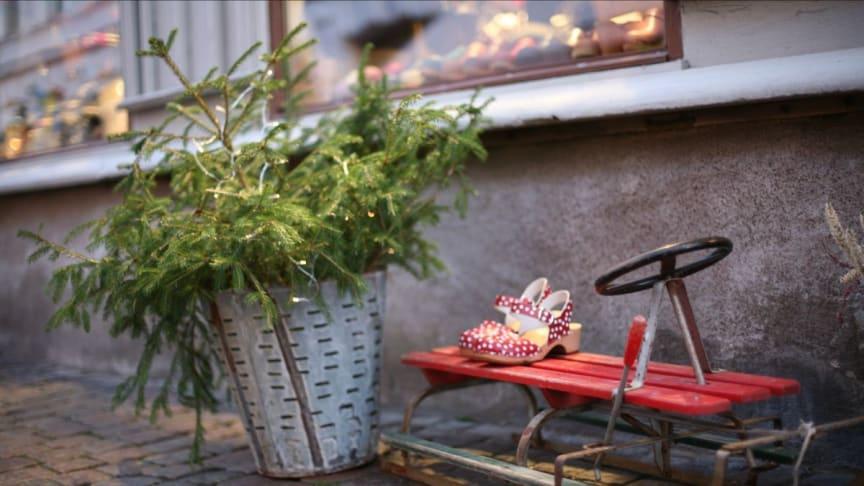Torgen är julpyntade men i år blir det inga jul-evenemang