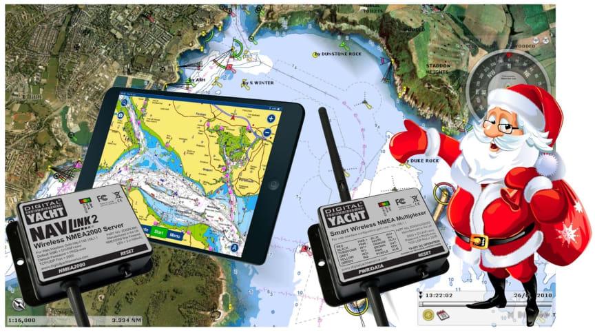 Ideas para regalos de Navidad de Digital Yacht
