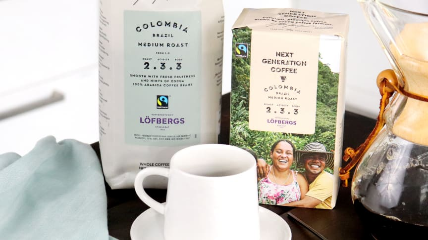 ​Löfbergs's new coffee strengthens young coffee farmers