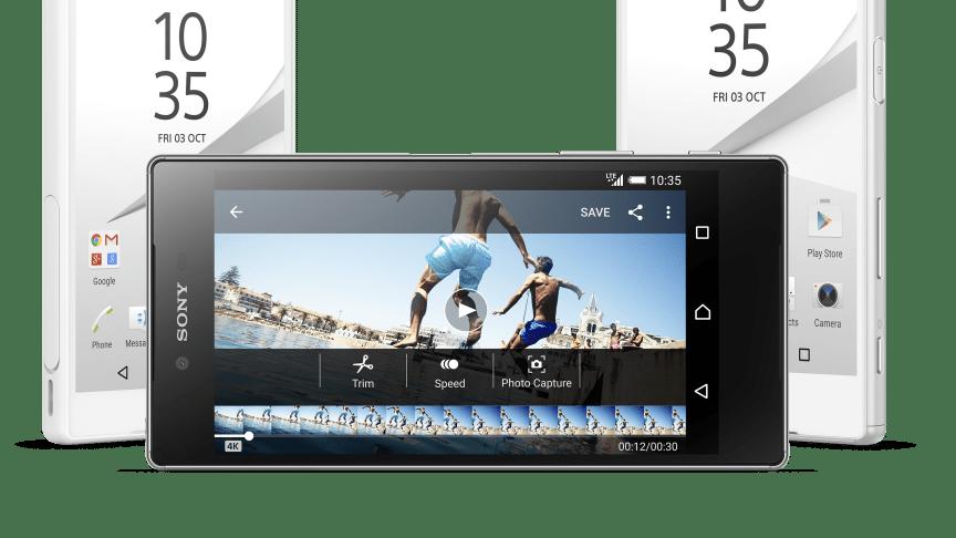 Sony præsenterer nye flagskibsmobiler med næste generations kamera