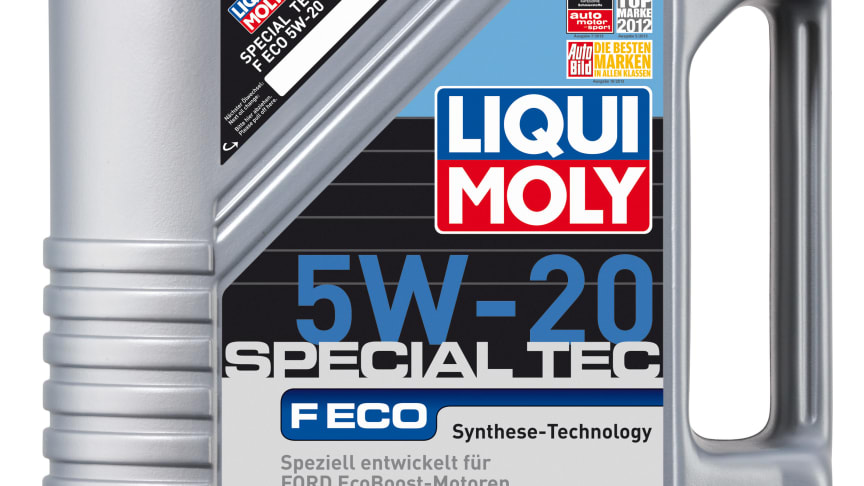 Ny Liqui Moly-olja för EcoBoost-motorer - Special Tec 5W-20 F Eco med officiellt godkännande från Ford.
