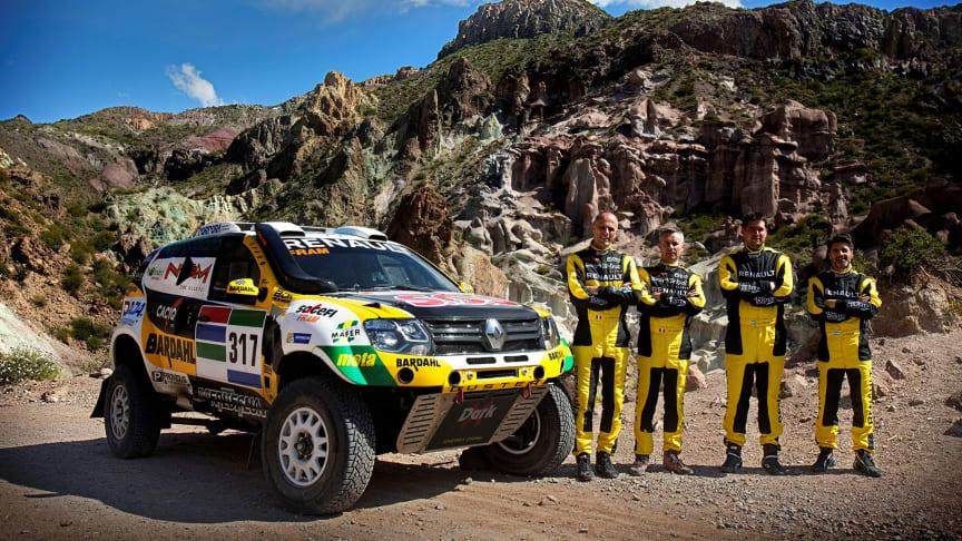 Duster klar til Dakar Rally