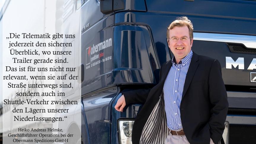 Heiko Andreas Helmke, Geschäftsführer Operations bei der Obermann Speditions-GmbH