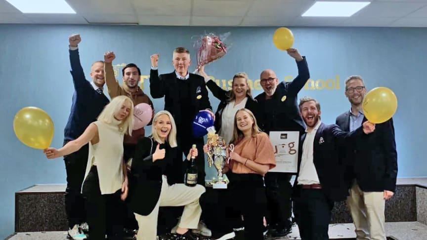 Thoren Business School i Örebro är Sveriges bästa skola för unga entreprenörer