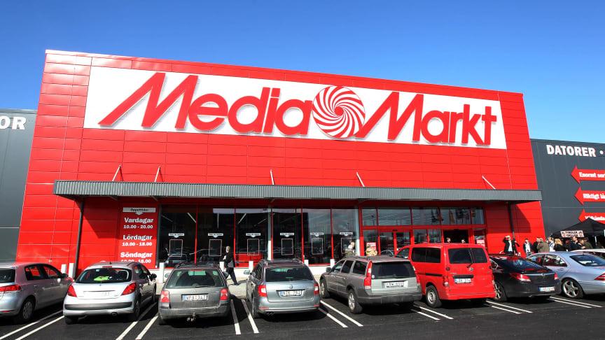 MediaMarkt Sverige redovisar en stark försäljningsutveckling på en lika stark underliggande marknad