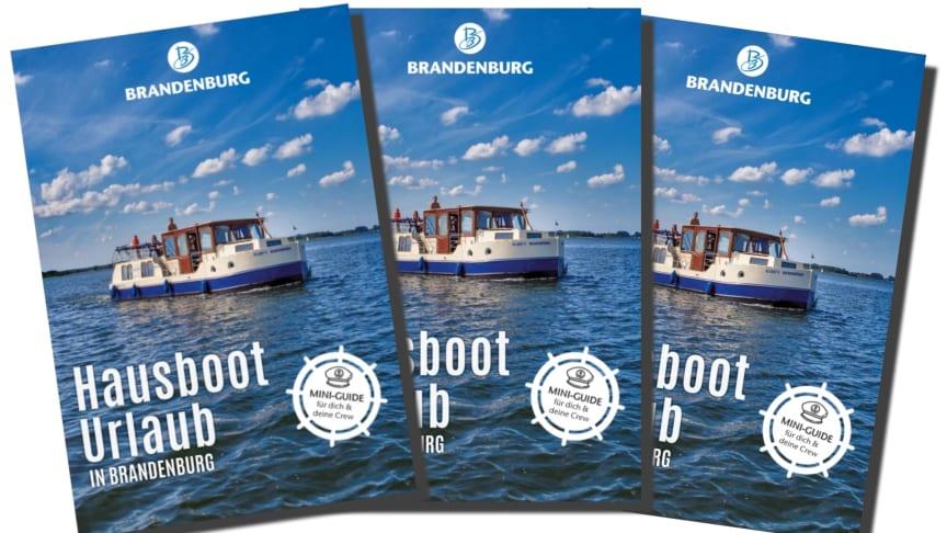 Ideal zur Vorbereitung: Der Mini-Guide Hausboot Urlaub in Brandenburg.