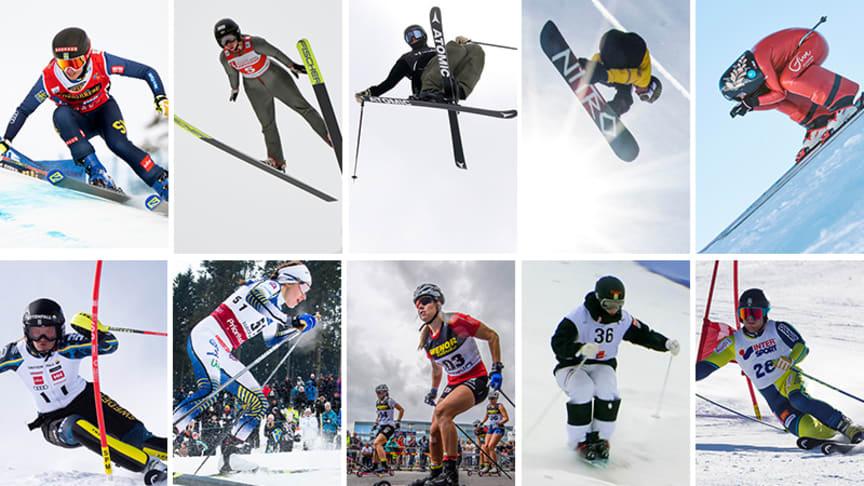 Tio idrotter ryms inom Svenska Skidförbundet.