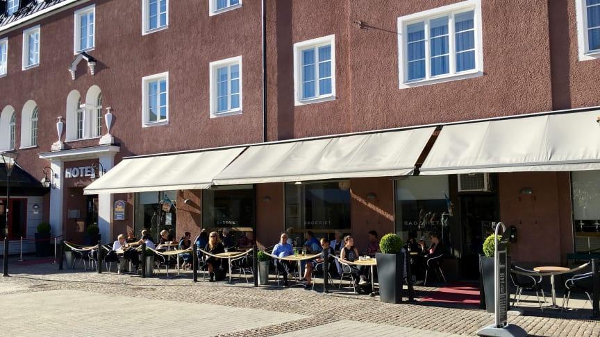 Nuvarande bageri- och kaféverksamhet kommer att byggas om och öppna som Espresso House