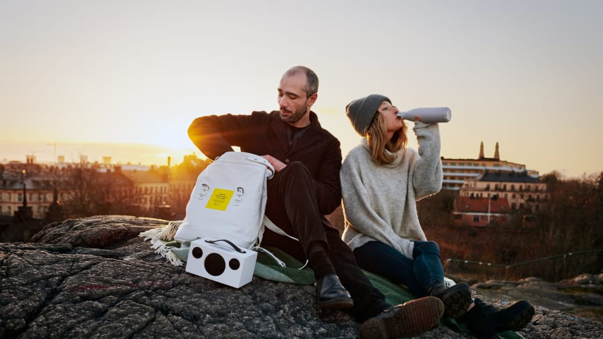 Nu kommer utländska turister att kunna låna en portabel designutställning som berättar om vardagsnära svenska designföremål och upplevelser på fyra platser i landet. Foto: Johan Wennerström