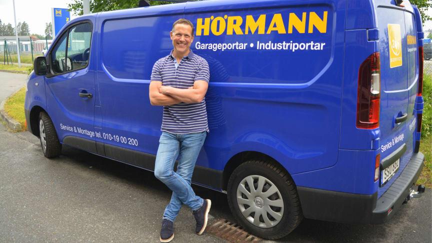 Från maj 2020 är Pierre Lindekrantz chef för Servicedivisionen på Hörmann Svenska AB