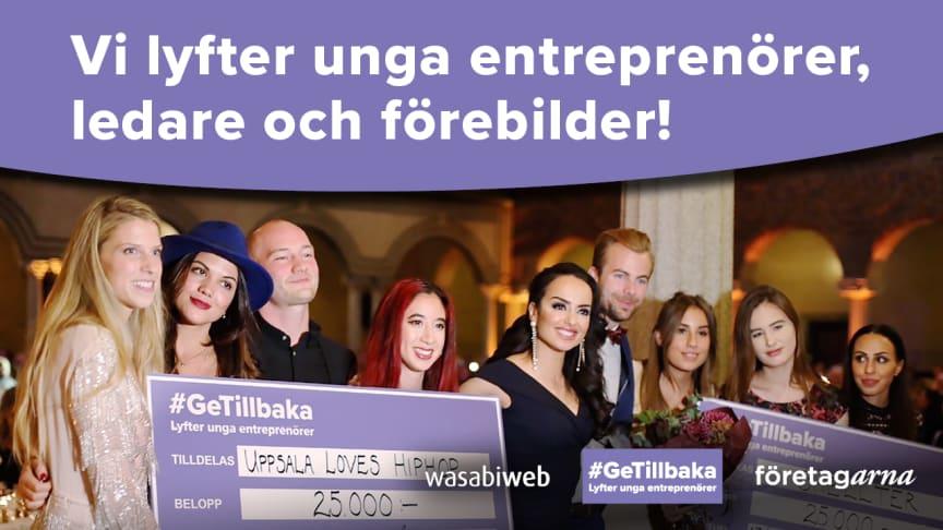 Nu är årets tolv finalister till stipendiet #GeTillbaka som premierar unga ledare utsedda. Rösta på din favorit!