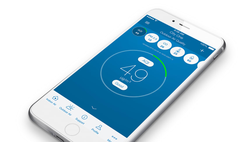 Blueair to unveil world's first fully working smart indoor air monitoring, control and purification system at Showstoppers @ CES 2016, Las Vegas, January 6