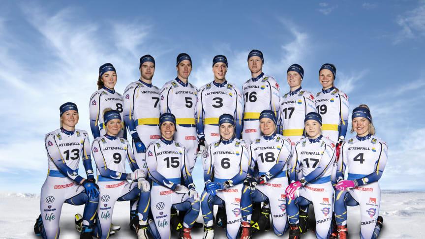 Swedish World Championship Cross-Country Ski Team