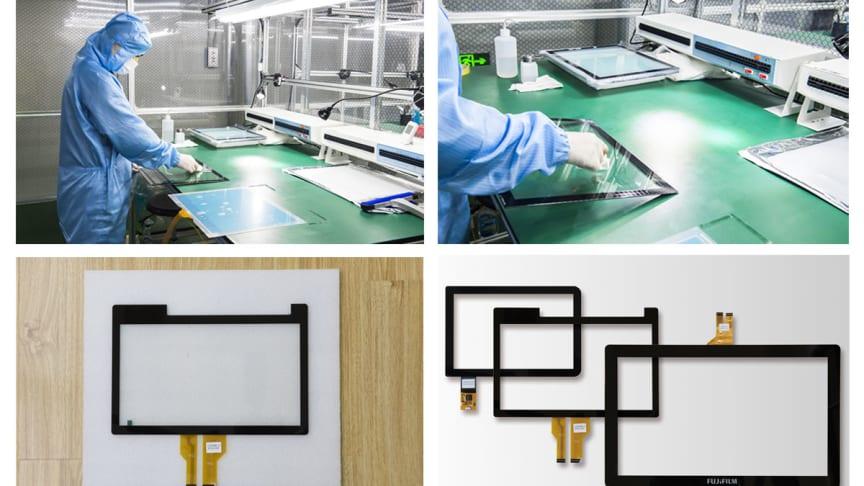 Optisk bindning för displayer
