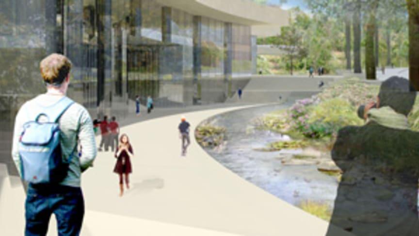 Nytt högskole- och universitetscampus i Stockholm