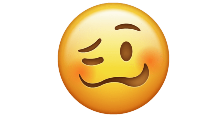 Apple devices link 'Woozy Face' emoji to Stammering