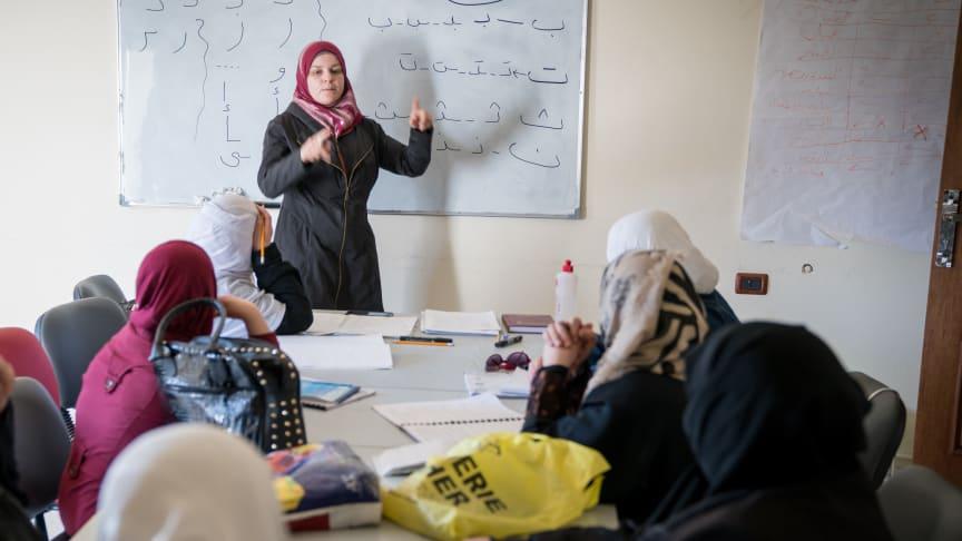 115 miljoner kronor i nya stöd till arbetet för kvinnors rättigheter i Mellanöstern och Liberia