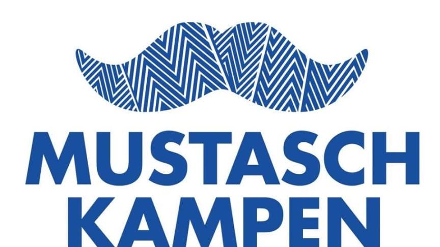 Mustaschkampen uppmärksammas i Nordstan 10/11.