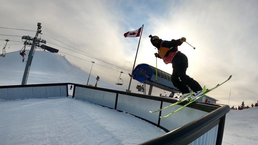 Dags för slopestylevärldscup i Calgary. Formen ser bra ut för de svenska åkarna. Bild: Niklas Eriksson (Fri att användas för redaktionellt bruk)